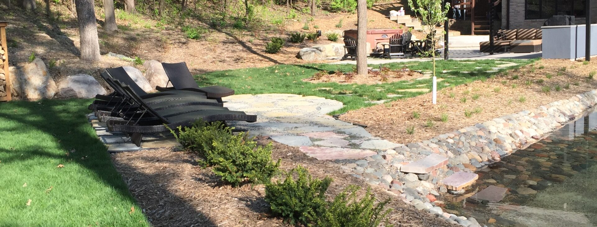 We have countless years of landscaping experience.  Let us help you build your dreams today.